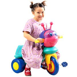 《寶貝樂》繽紛小蜜蜂兒童三輪車