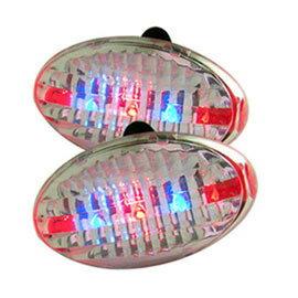 《Bike Master》超值2入自行車蛋型警示燈(ME0029)