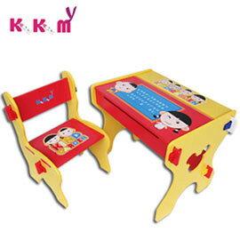 ~kikimmy~小博士畫版成長學習書桌椅組~活潑紅^(BK020R^)