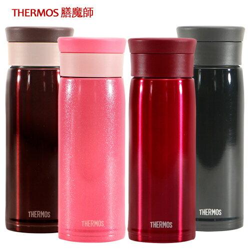 THERMOS膳魔師 不鏽鋼真空保溫杯480ml~黑色  紅色  珠光粉  咖啡色~JMZ