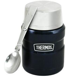 THERMOS膳魔師 不鏽鋼真空保溫杯瓶470ml-深藍色MB6【SK3000】(MF0121B)