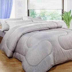 床之戀 台灣製竹炭纖6x7尺雙人加大暖暖被(180x210cm)(MG0058)
