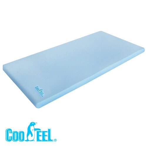 【送冰涼巾】CooFeel 台灣製造高級酷涼紗高密度記憶棉兒童床墊(MG0070+MI0253)