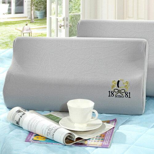 TheLife 樂生活:美國NINO1881台灣製3M吸濕排汗表布記憶綿枕(MG0115)