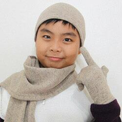 【CoFeel酷咖絨】咖啡混紡兒童帥氣保暖手套-咖啡色(MJ0476K)