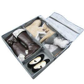 【618年中慶】SoEasy 竹炭6格鞋靴整理箱50L-可自由分隔(MP0080) - 限時優惠好康折扣