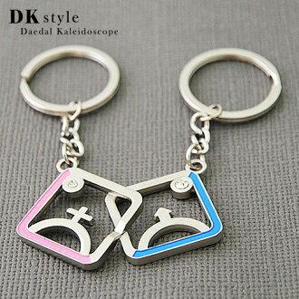 《DK Style》珍愛鑰匙圈-戀愛密碼★情人節、聖誕節、生日送禮必備★(MQ0220)