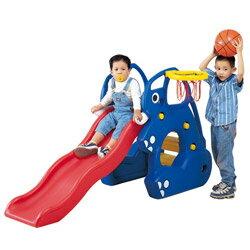 【寶貝樂】寶貝象歡樂溜滑梯組~附籃框籃球【SL-02A】(MT0076)