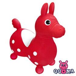 【QQMa】ST快樂寶貝充氣跳跳馬(紅)(MT0156)