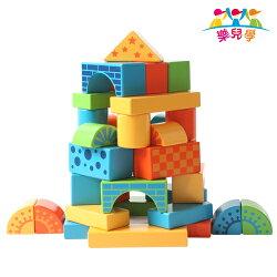 樂兒學 百變創意88顆益智木製學習積木(MT0438)