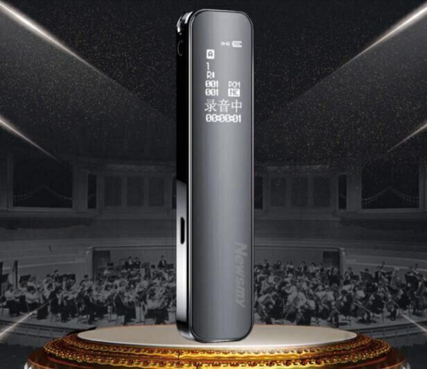 現貨快出 【超強降噪】新款紐曼V19錄音筆專業高清降噪內錄語音 走心小賣場