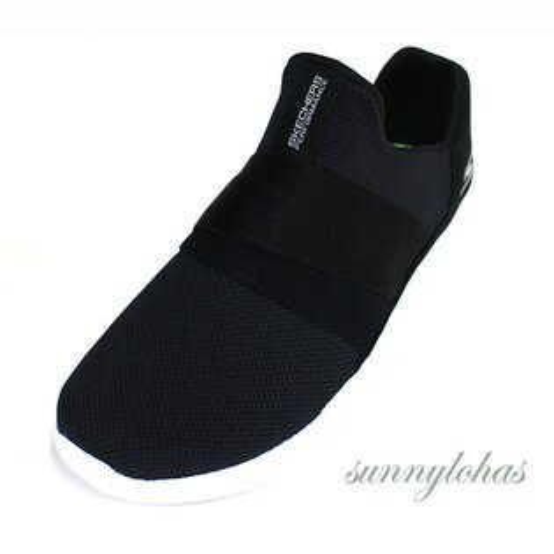 SKECHERS(女)跑步系列GORUNMOJO慢跑鞋運動鞋健身房-14814BKW黑[陽光樂活]