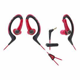 鐵三角 audio-technica ATH-SPORT1 紅色 運動型耳塞式耳機 (鐵三角公司貨)