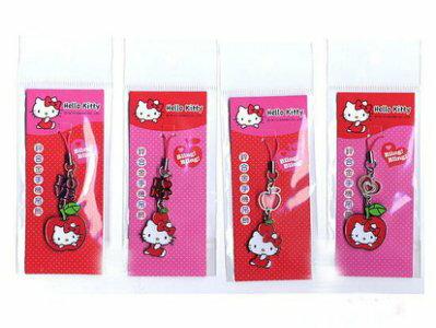 【真愛日本】13101600003 KT閃亮鋅合金吊飾-4款 KITTY 凱蒂貓 三麗鷗 吊飾 鑰匙圈