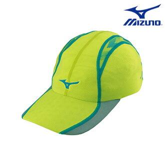 J2TW650237 (螢光綠) DryScience 吸汗速乾 運動路跑帽 【美津濃MIZUNO】