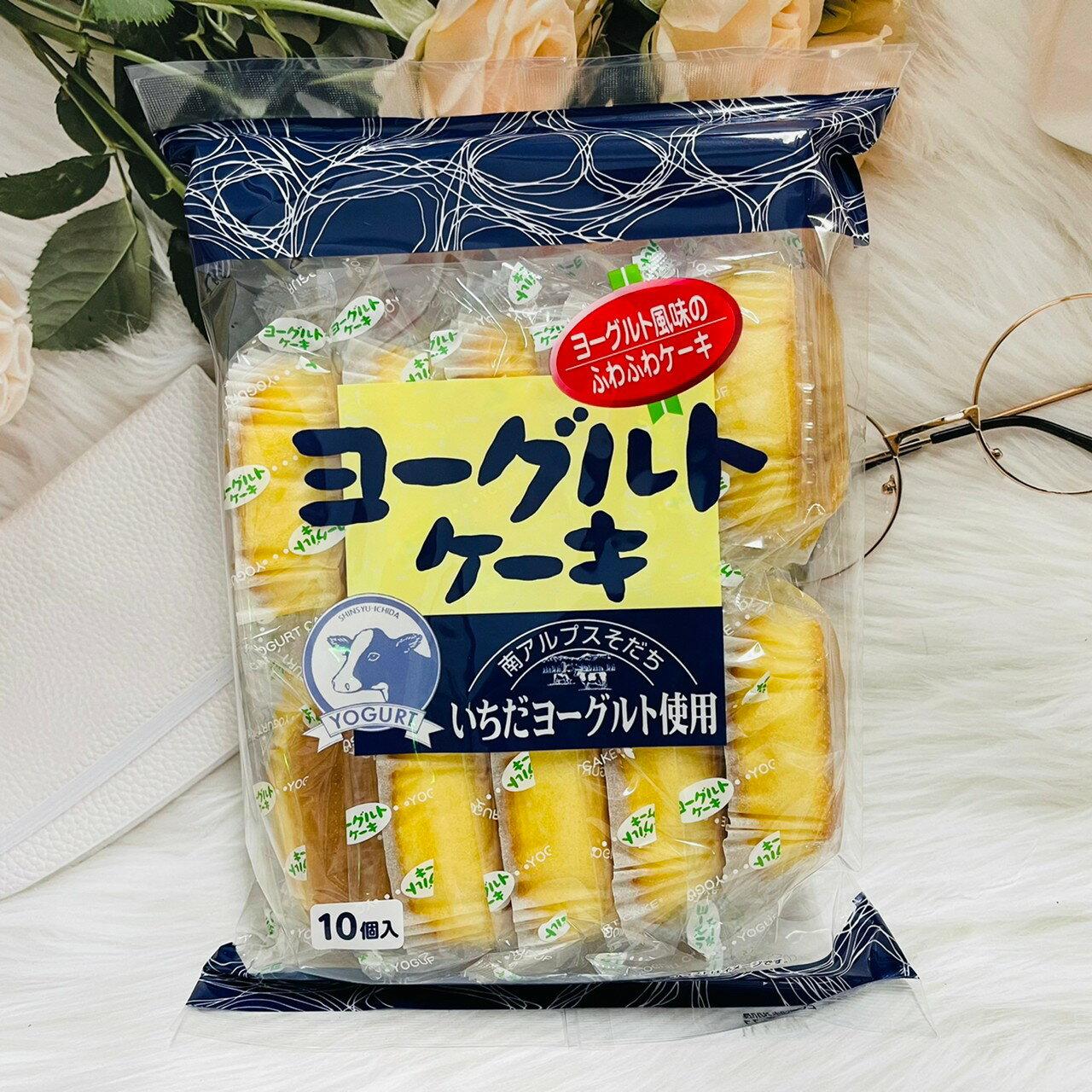 日本 幸福堂 牛乳蛋糕/香蕉蛋糕/優格風味蛋糕/紅茶蛋糕 180g 10個入
