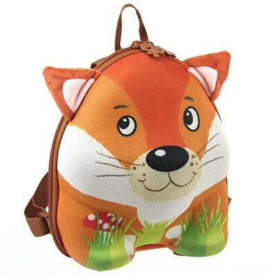 德國okiedog 兒童3D動物造型後背包-狐狸