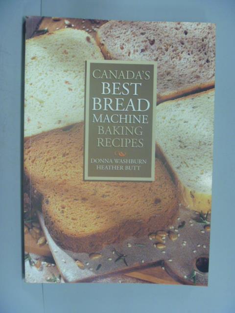 ~書寶 書T8/餐飲_YEB~Canada #x27 s Best Bread Machi