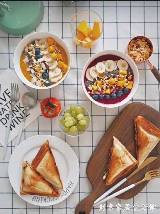 家用全自動三明治機早餐吐司雙面加熱多功能飛碟機三文治烤面包機WD