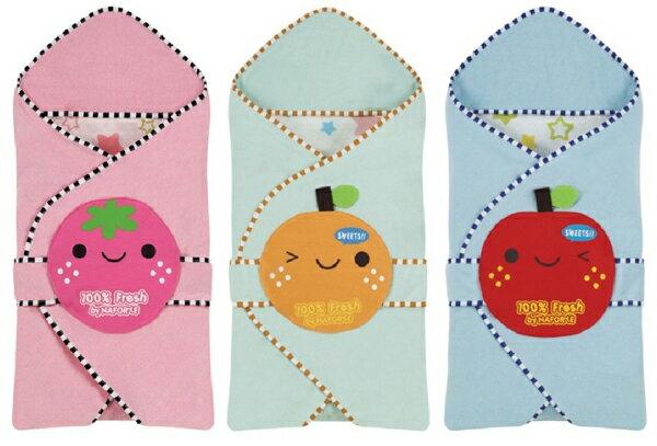 NAFORYE 3in1彩虹糖包巾被 三色