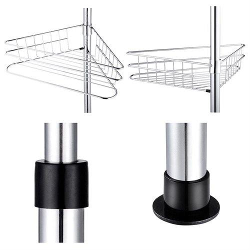 YescomUSA | Rakuten: Metal 4 Tier Shelf Corner Shower Caddy Bathroom ...