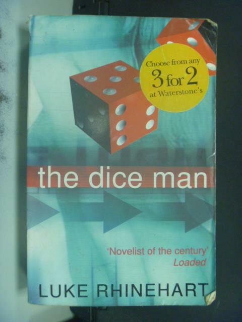 ~書寶 書T2/原文小說_NSN~The Dice Man_Luke Rhinehart