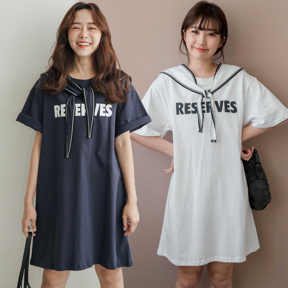 ★現折100↘$499★MIUSTAR 附披肩!RESERVES棉質洋裝(共2色)0728預購【NH1967】 0