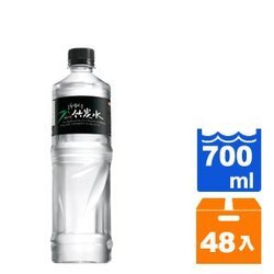 味丹 多喝水 鹼性竹炭水 700ml (24入)x2箱