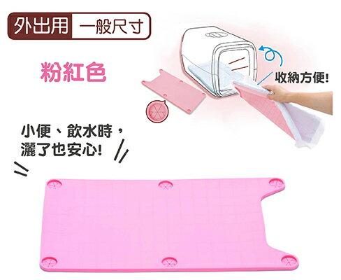 日本Tarky專利攜帶型外出用矽膠便盆-專利矽膠便盆-粉色一般尺寸