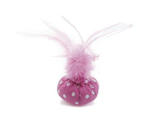 Tarky專利貓草舒壓玩具~羽毛球~紫