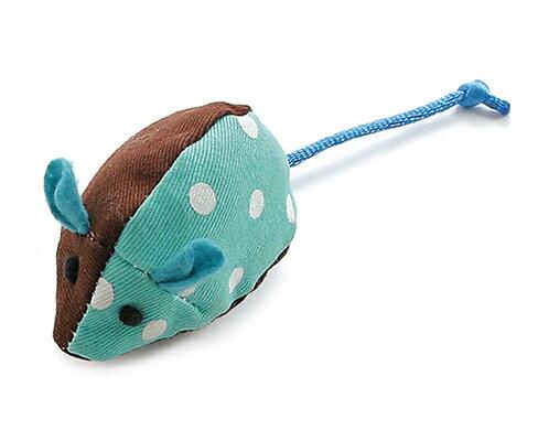 Tarky專利貓草舒壓玩具~點點老鼠~綠