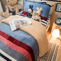 極度保暖法蘭絨三款床包+雙人被毯組合 (單人/雙人/加大可選) ♥️ 觸感細緻 溫暖過冬 福袋商品 0