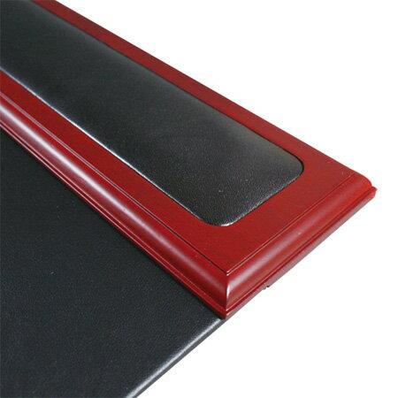紅木框真皮桌墊 D21015