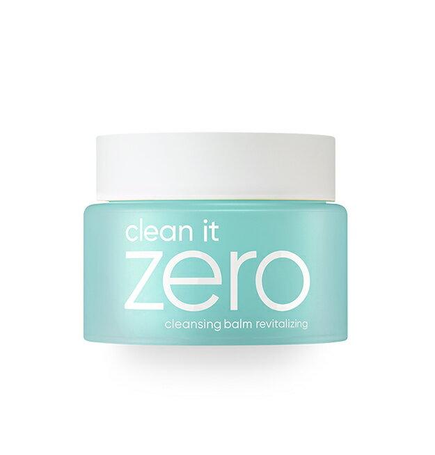 【BANILA CO】銷售No.1 韓國 Zero 柔感卸妝凝膏霜(清爽款-油性肌膚適用)100ml 綠