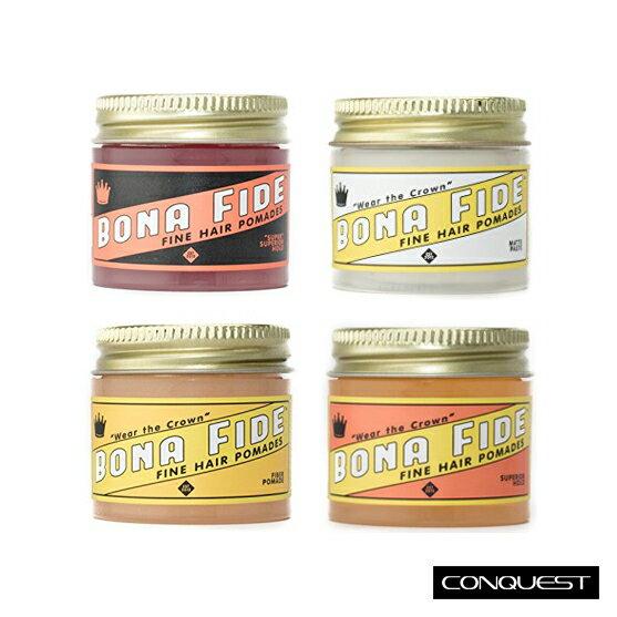 ~ CONQUEST ~Bona Fide 1oz 旅行罐 強力款水洗式髮油 無光澤髮蠟