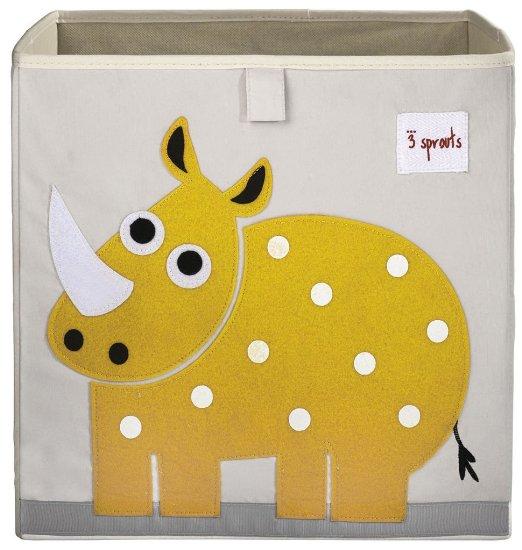 加拿大 3 Sprouts 收納箱 黃色犀牛 *夏日微風*