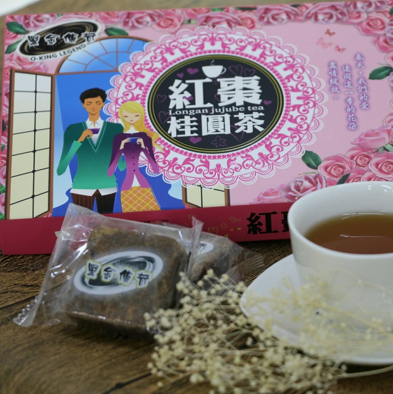 黑糖紅棗桂圓茶(禮盒)大顆210g