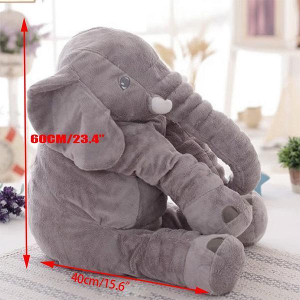 Plush Baby Soft Elephant Sleep Pillow Large Stuffed Animal Doll Kids Toys 4
