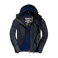 極度乾燥商品推薦到美國百分百【全新真品】Superdry 極度乾燥 Arctic 風衣 連帽 外套 防風 夾克 刷毛 海軍藍灰S號  F965就在美國百分百推薦極度乾燥商品