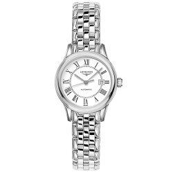 LONGINES 浪琴表 L43744216 旗艦系列 羅馬經典腕錶/白面30mm
