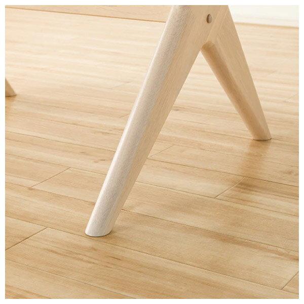 ◎(OUTLET)實木餐桌椅三件組 RELAX WIDE90 WW 橡膠木 福利品 NITORI宜得利家居 5