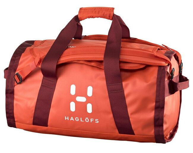 HAGLOFS |瑞典|  LAVA 50 行李袋/裝備袋 多用途旅行背包-椒紅/紅/400301 【容量50L】