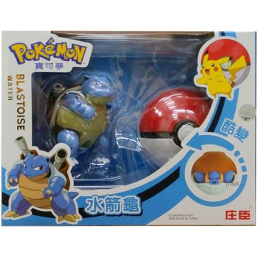 《 寶可夢 》 寶可夢變形系列-水箭龜 東喬精品百貨