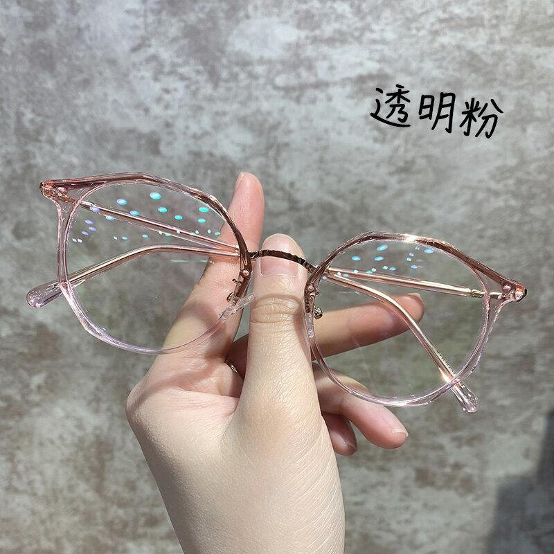 鏡架 ins網紅綠色抗電腦護眼鏡框女可配平光『CM396814』