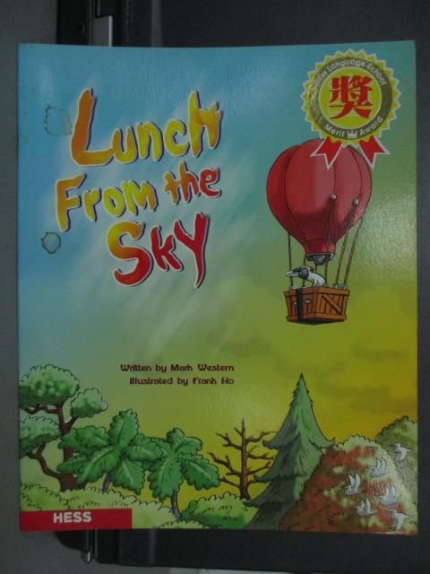 【書寶二手書T1/語言學習_QGH】Lunch from the sky
