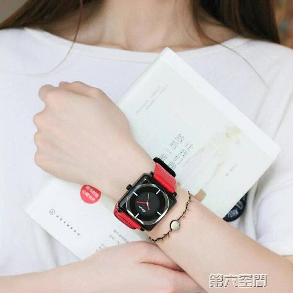 女錶 超薄手錶女士全自動防水真皮帶石英手錶時尚韓版學生非機械表潮流 第六空間 聖誕節禮物