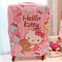 kitty 收納袋登機箱 旅行箱 行李箱套