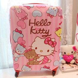 kitty 防塵 收納袋登機箱 旅行箱 行李箱套