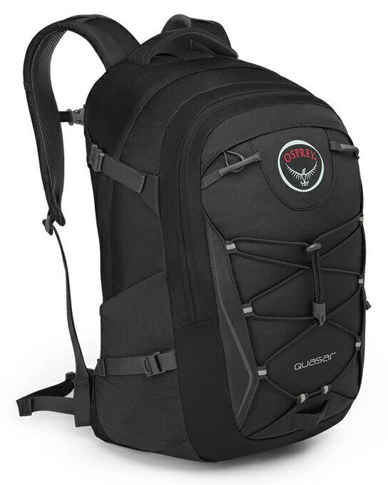 【鄉野情戶外用品店】 Osprey |美國| QUASAR 28 電腦背包《男款》/15吋筆電背包 城市背包 旅行背包 -黑/Quasar28 【容量28L】