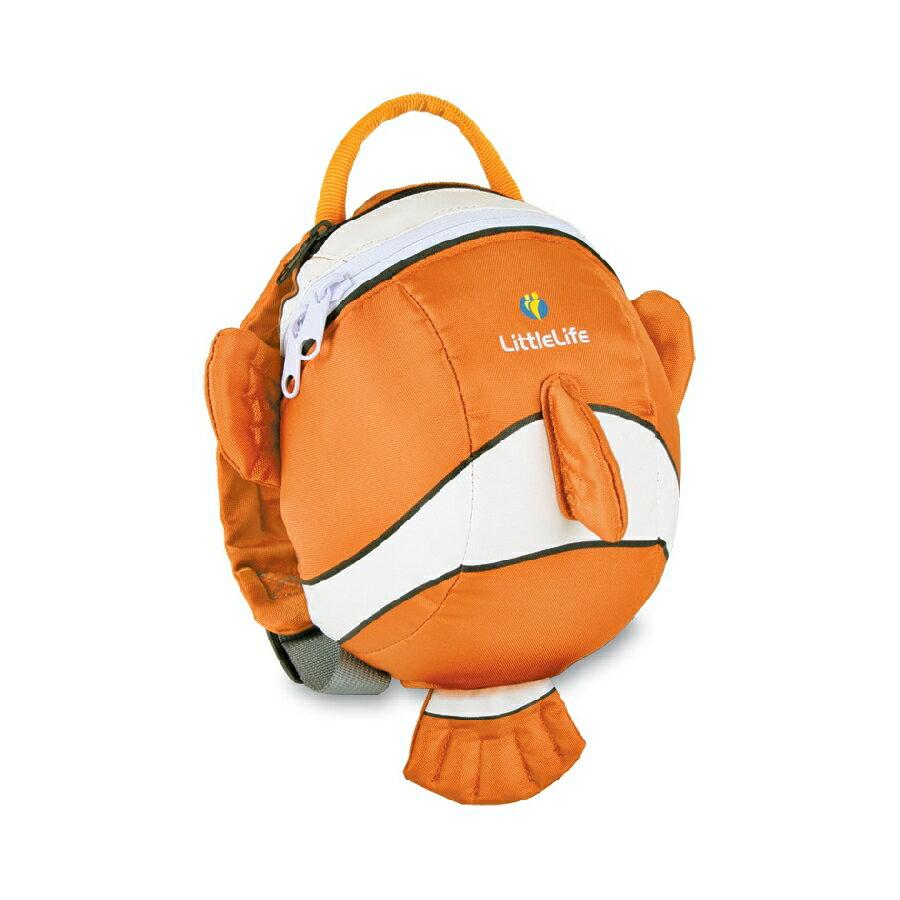 *babygo*英國 LittleLife 小丑魚造型幼兒輕背包/防走失背包